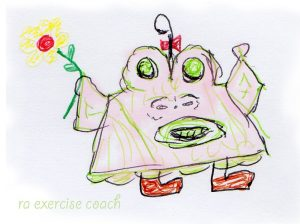 Mary's exercise coach